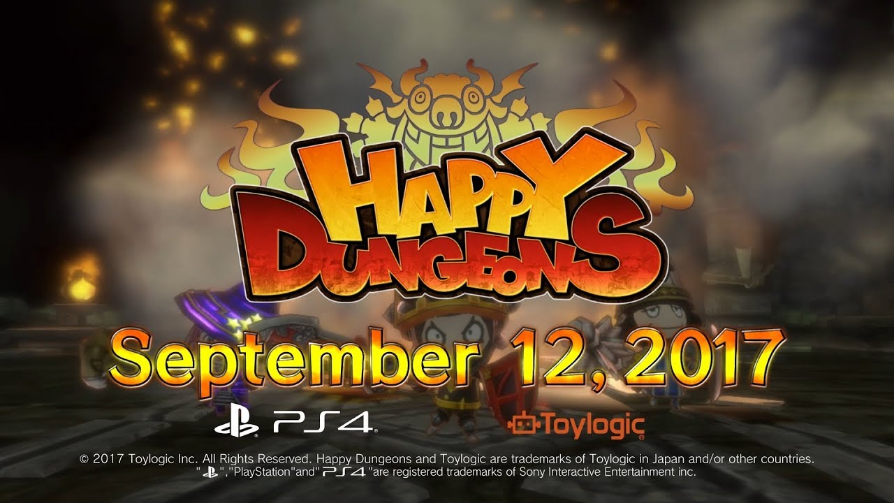 Happy Dungeons - Release Date Trailer