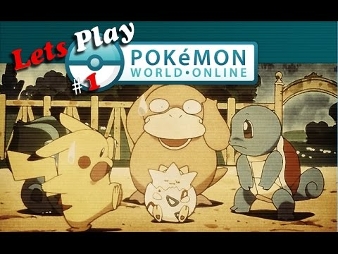 Lets Play Pokemon World Online /Review ?