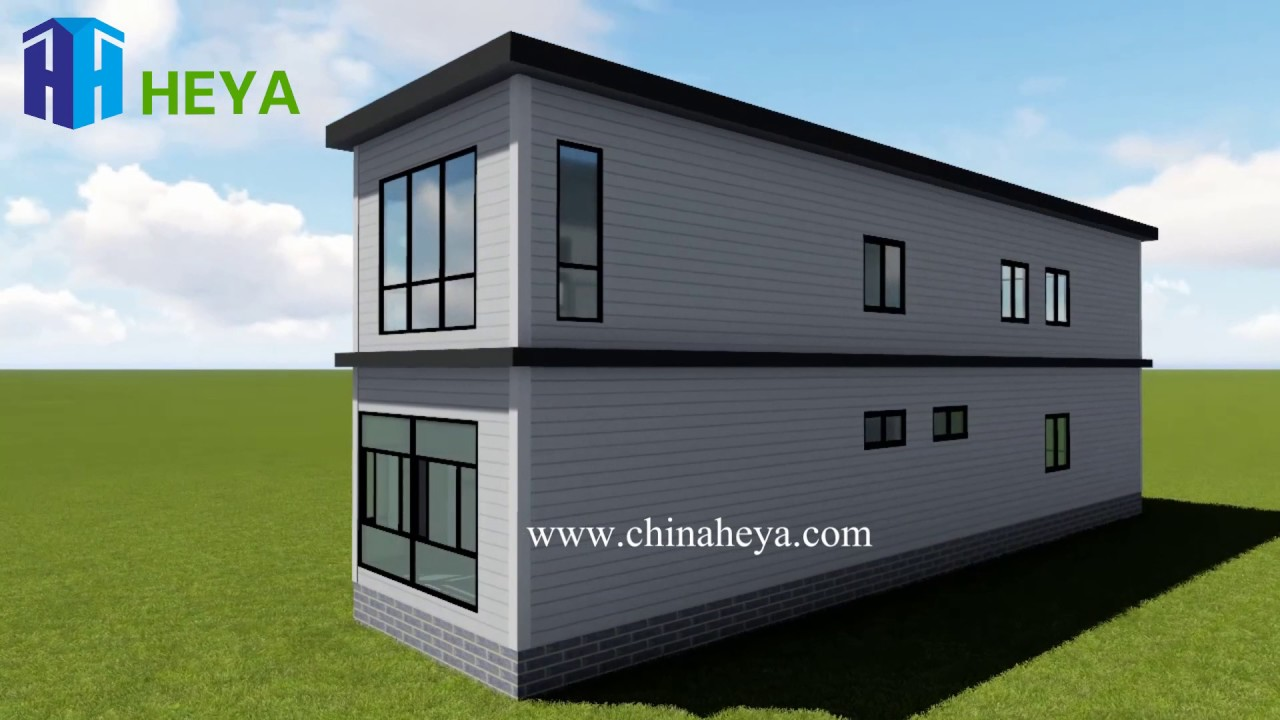 HEYA Superior Quality 2 Story Prefab Villa