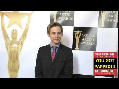 Logan Reinhart at the 37th Annual Young Artist Awards Sportsman Lodge in Studio City