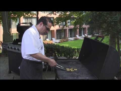 Preparing Halibut Steaks on the Grill