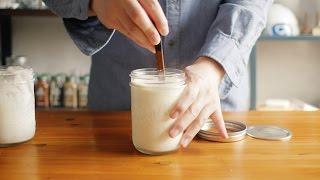 사워크림 만들기 How to make sour cream-멜키 melki