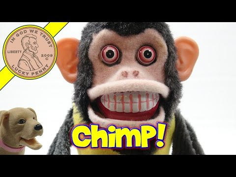 Musical Jolly Crazy Monkey, Cymbal Smashed By A Chimp!
