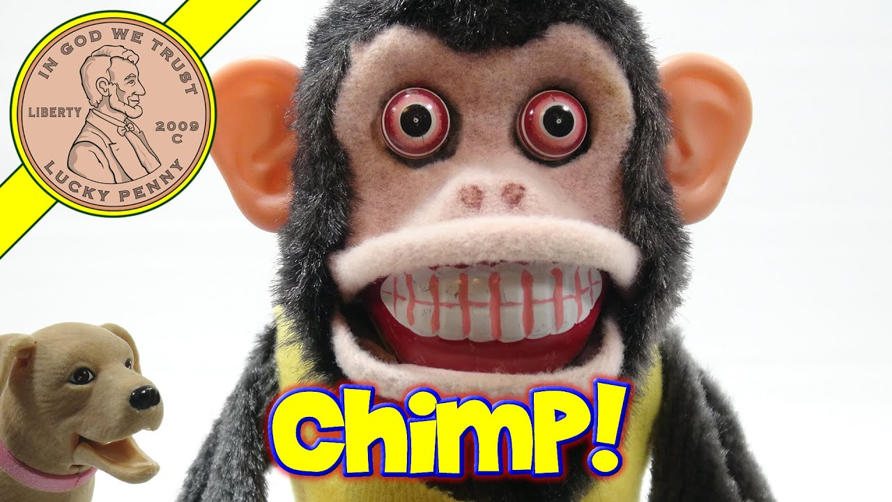 Musical Jolly Crazy Monkey Cymbal Smashed By A Chimp Youtube