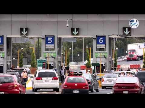 Continúa cierre de autopista México - Cuernavaca en horario nocturno