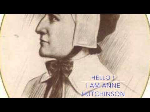 Anne Hutchinson Starting Draft