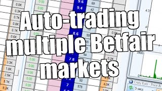 Auto-trading many Betfair markets at the same time