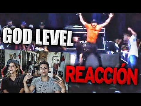 REACCIÓN / TEAM CHILE vs TEAM MÉXICO - Semifinal - God Level 2018
