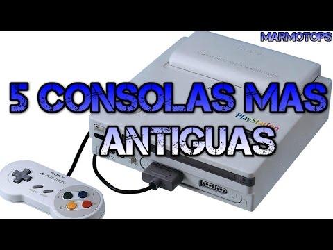 la consola de videojuegos mas antigua