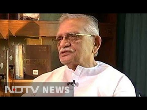 Gulzar translates Tagore's poems