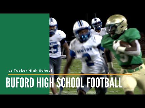 Buford High School Football vs Newton County High School