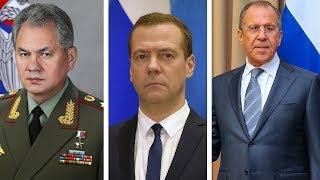 Отставка правительства РФ. Кто занимал ключевые посты