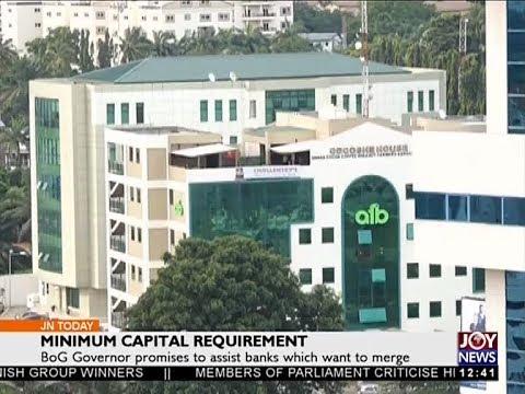 Minimum Capital Requirement - Joy Business Today (7-12-17)