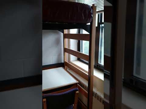 Lee Hall Vt Dorm Room Youtube