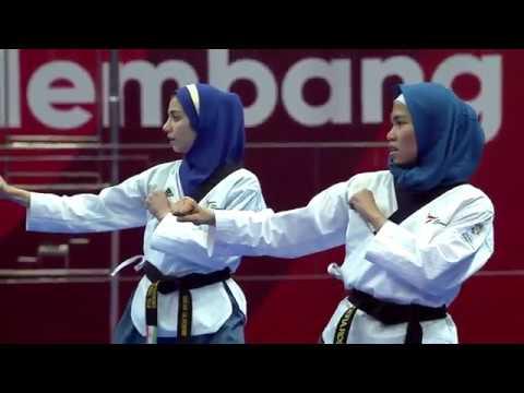 Emas Pertama Indonesia Dari Defia Rosmaniar   ASIAN Games 2018  Taekwondo