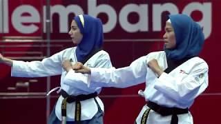 Download Video Emas Pertama Indonesia Dari Defia Rosmaniar   ASIAN Games 2018  Taekwondo MP3 3GP MP4