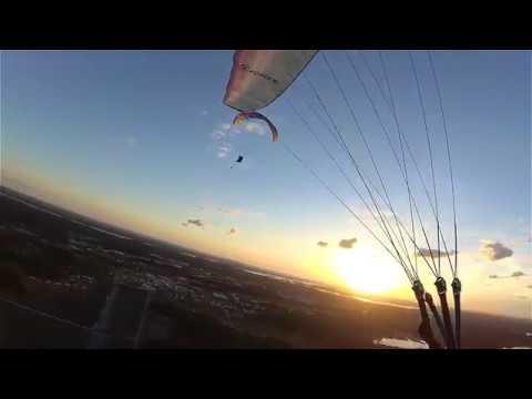 Paragliding Barkarby Sweden 2017-08-14