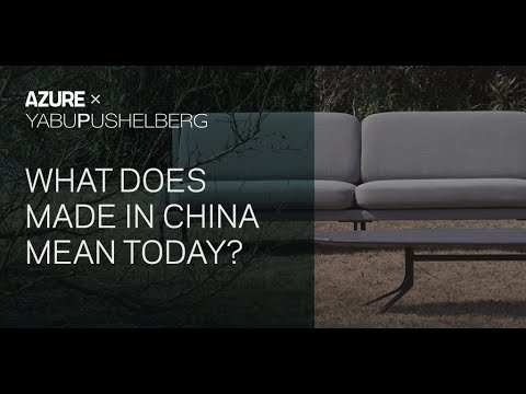In conversation with Yabu Pushelberg: What does 'Made in China' mean today?