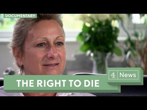 The terminally ill woman fighting for the right to die