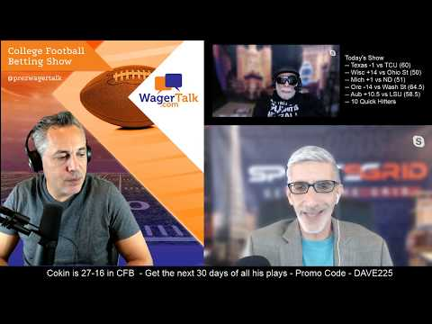 🏈 The College Football Betting Show (Week #9 - College Football Picks And Predictions)