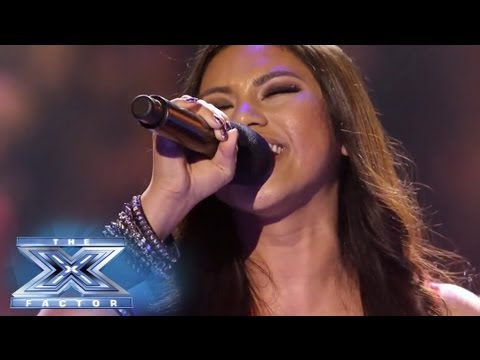 Ellona Santiago Has A Moment of Clarity  THE X FACTOR USA 2013