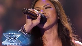 "Ellona Santiago Has A Moment of ""Clarity"" - THE X FACTOR USA 2013"