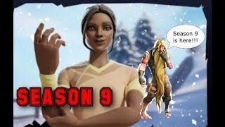 FORTNITE season 9 trailer and battle pass