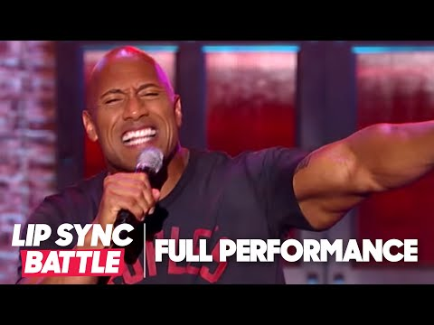 "Thumbnail: Dwayne Johnson's ""Shake It Off"" vs Jimmy Fallon's ""Jump In The Line"" 