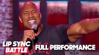 "Dwayne Johnson's ""Shake It Off"" Vs Jimmy Fallon's ""Jump In The Line"" 