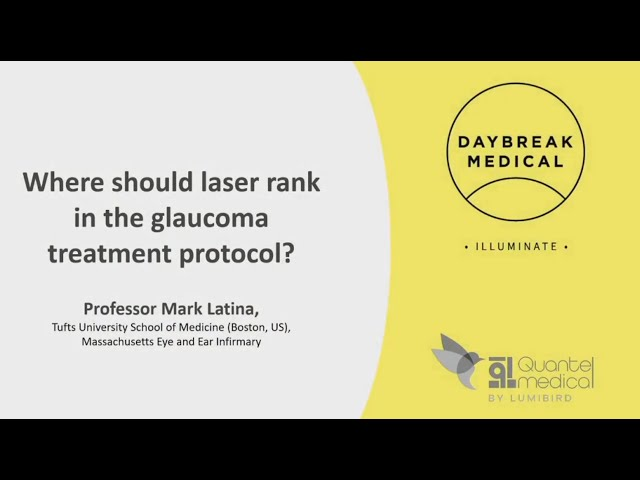 Where should laser rank in the glaucoma treatment protocol?