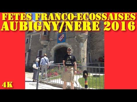 IRL - Fêtes franco-écossaises d'Aubigny/Nère (18) 2016 (4K)