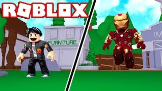 I TRANSFORM INTO IRONMAN IN THIS ROBLOX game 🤣😂