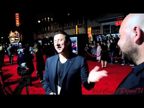 Steve Perry of #Journey at the Premiere of Need for Speed #NFSMovie