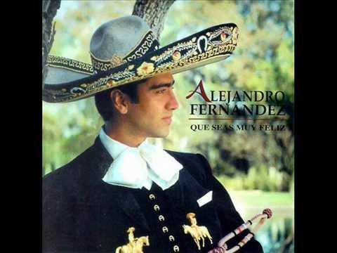 Alejandro Fernandez- En El Jardin de mis amores - YouTube