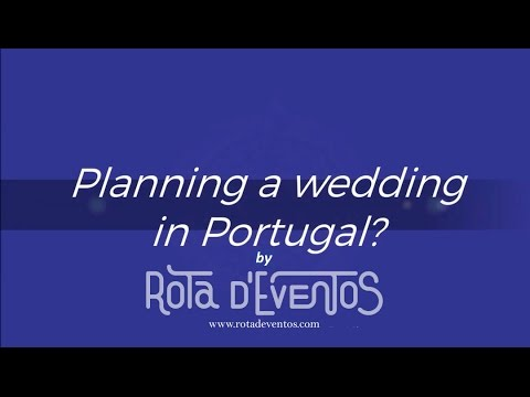 Planning a wedding @ Portugal by ROTA D'EVENTOS