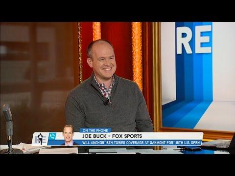 FOX Sports Emmy Award Winning Broadcaster Joe Buck on The US Open & More - 6/14/16