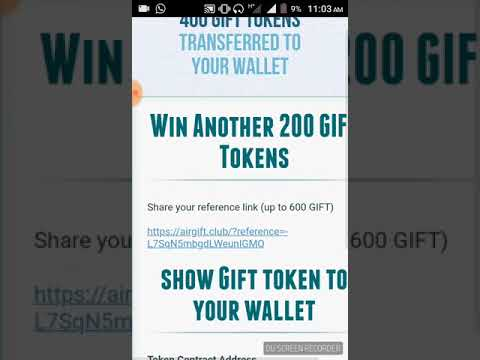 Instant receive 1000 gift token ether wallet limited time