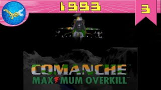 Best Games in History - 1993 - part 3 - Comanche