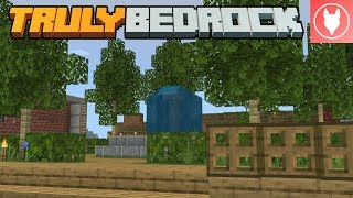 Truly Bedrock S1 : E15 - Making a Park and Stone Generator