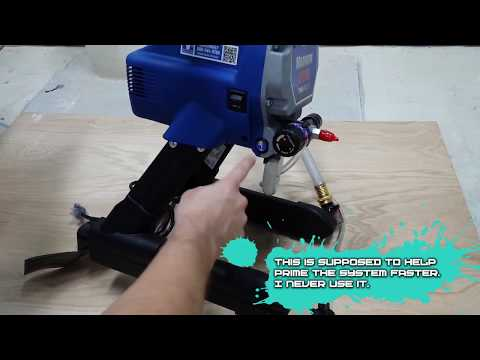 Graco Magnum LTS 15 / X5 Unboxing Paint Sprayer Review