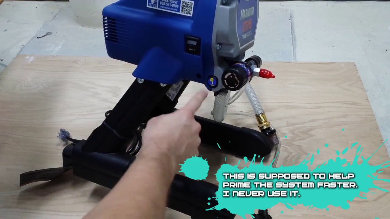 Graco Magnum LTS 15   X5 Unboxing Paint Sprayer Review - YouTube d862f3dff38