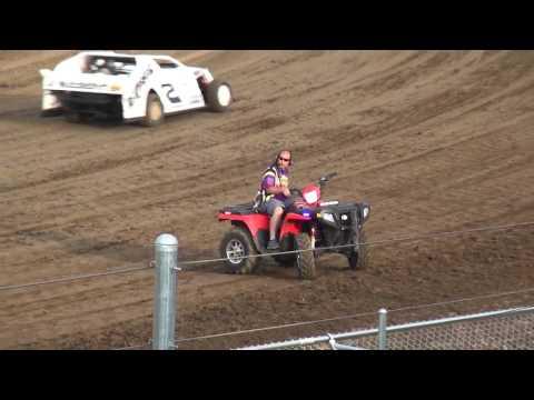 IMCA Sport Mod Heats Independence Motor Speedway 7/30/16