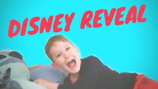 The kids don't know we are going to Disneyland Paris RIGHT NOW 🤫 | How to do a Disney reveal