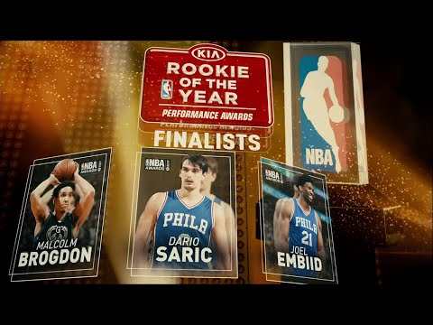 2017 NBA Awards: Rookie of the Year Finalists