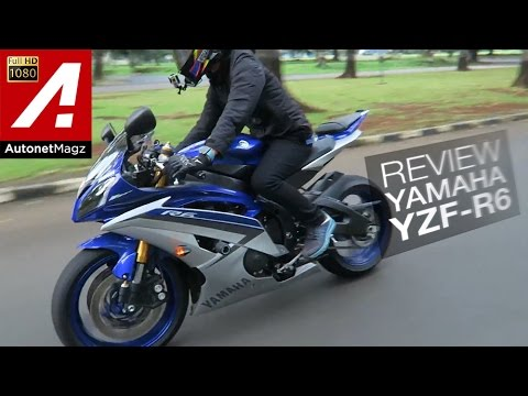 Review Yamaha YZF R6 Indonesia by AutonetMagz with JodieMoto