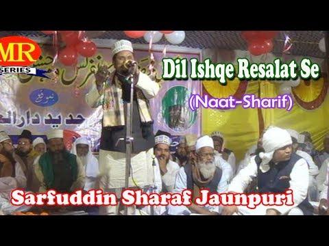 उर्दू नात शरीफ़- اردو نعت شریف !दिल इश्क़े रसूल से!Sarfuddin Sharaf Jaunpuri! Urdu Naat Sharif New