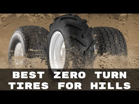 Best Zero Turn Tires For Hills Find The Option