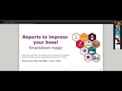 R-Ladies Oslo (English) - Reports to impress your boss! Rmarkdown magic