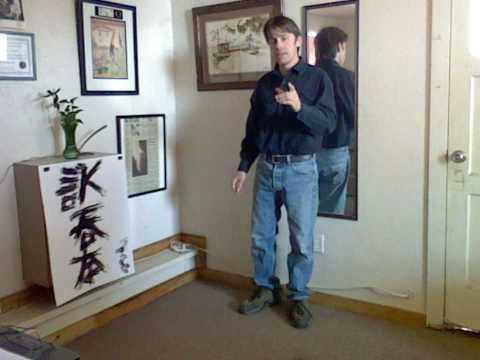 Wing Chun Training - Tok Sau