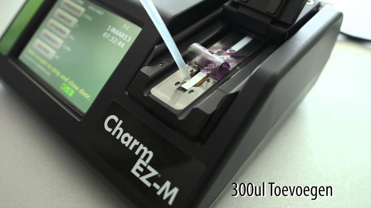 Charm EZ Mykotoxin (EZ-M) Testsysteem Nederlands - YouTube